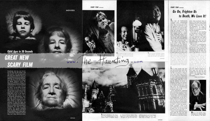 Life (USA), Aug. 30, 1963, composite of all pages about 'the haunting'