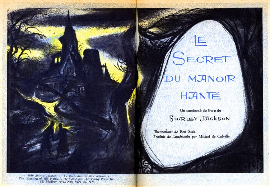 le secret du manoir hanté, france, reader's digest #1, 1961, illustrations by Ben Stahl #1