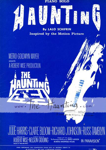 The Haunting, 1963, Lalo SCHIFRIN, Music sheet