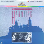 the haunting, laserdisc, 1986, usa, pan and scan